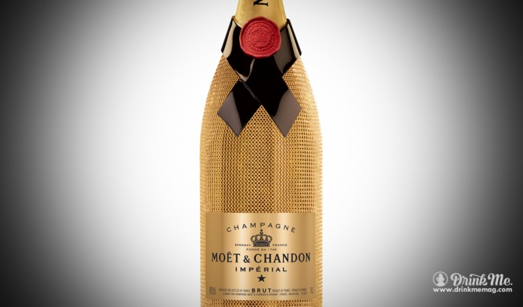 Moet & Chandon Imperial Gold Suit Drink Me Magazine