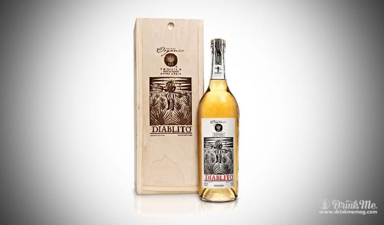 123 ORGANIC EXTRA ANEJO DIABLITO TEQUILA drinkmemag.com drink me