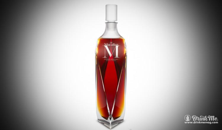 The MacCallan M Scotch Whiskey Drink Me Magazine