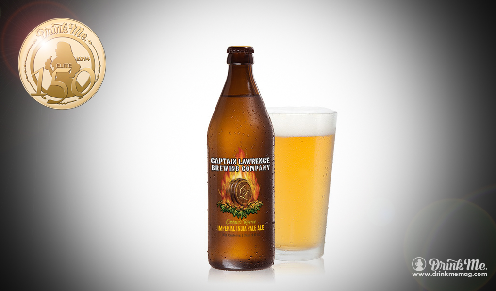 Captain Lawrence Brewing Company Captain's Reserve Imperial IPA Drink Me Magazine