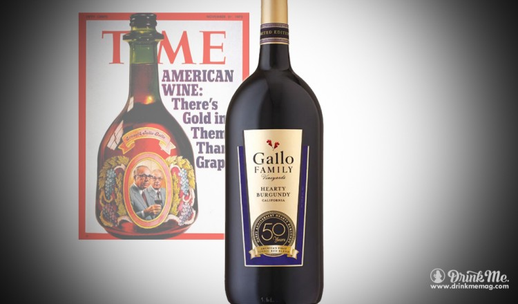Gallo Family Vineyard 50th Anniversary Hearty Burgundy Drink Me Magazine