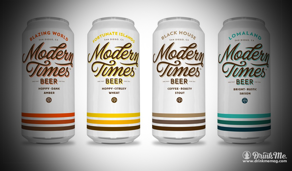 Modern Times Beer Drink Me Magazine