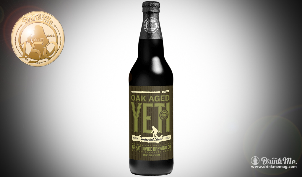 Great Divide Brewing Company Oak Aged Yeti Imperial Stout Drink Me Magazine