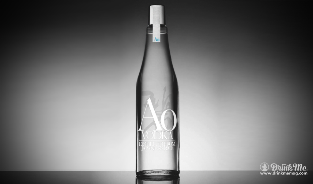 AO Rice Vodka Suntory Drink Me Magazine