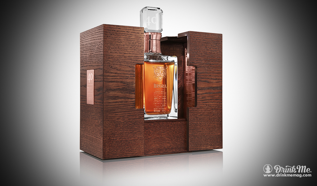 Brora 40 year old Single Malt Scotch Whisky Diageo Drink Me Magazine