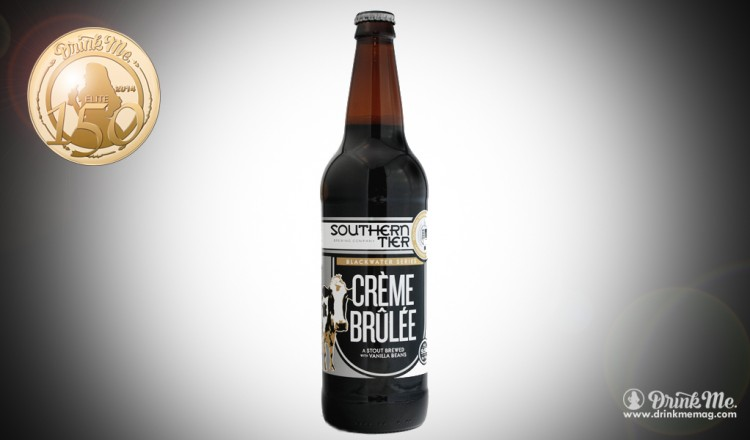Southern Tier Brewing Company Creme Brulee Imperial Stout Drink Me Magazine Elite 150 Beer