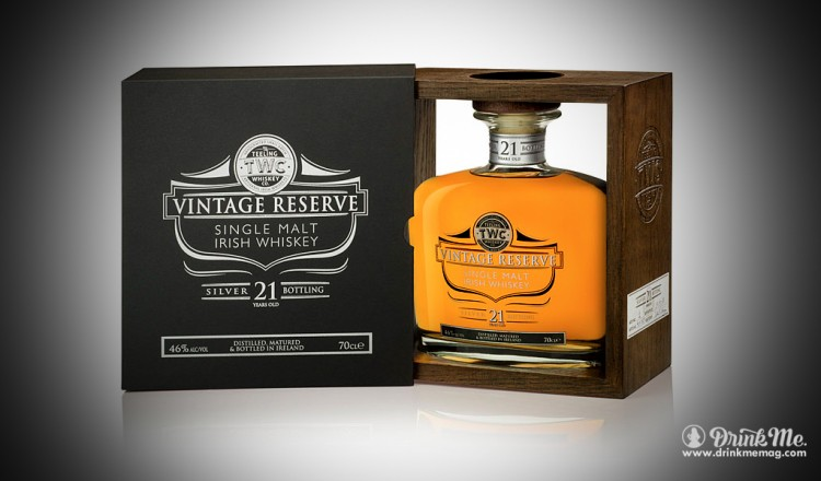 Teeling Whiskey Company Vintage Reserve Silver 21 Year Single Malt Drink Me Magazine
