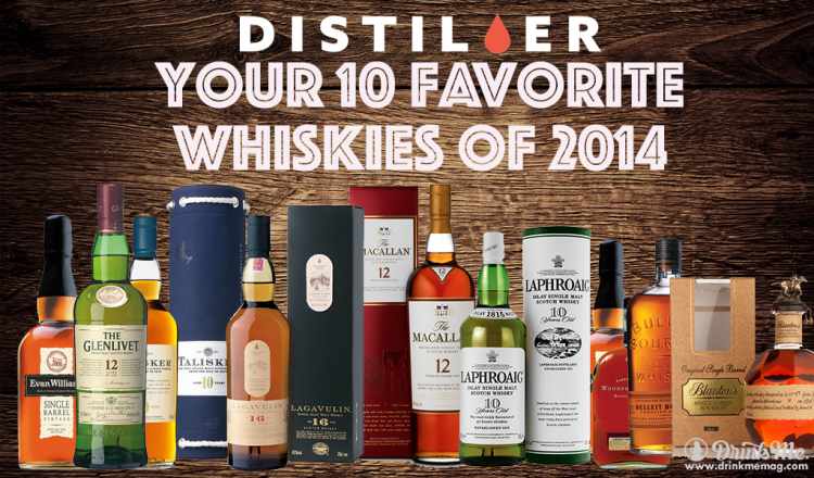 Drink Me Magazine Best Whiskies of 2014