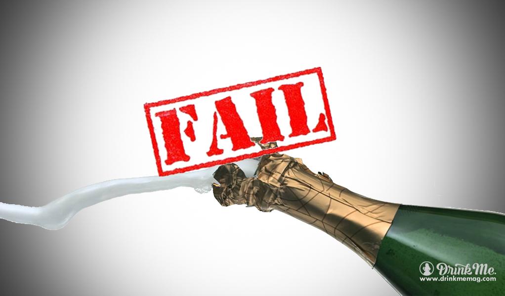 Drink Me Magazine Saber Champagne Fail