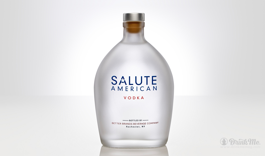 Salute American Vodka Drink Me