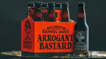 Arrogant Bastard Barrel Aged Bourbon drinkmemag.com Dirnk Me