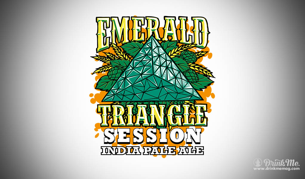Eel  River Brewing Drinkmemag.com Drink Me Emerlad Session Triangle India Pale Ale IPA