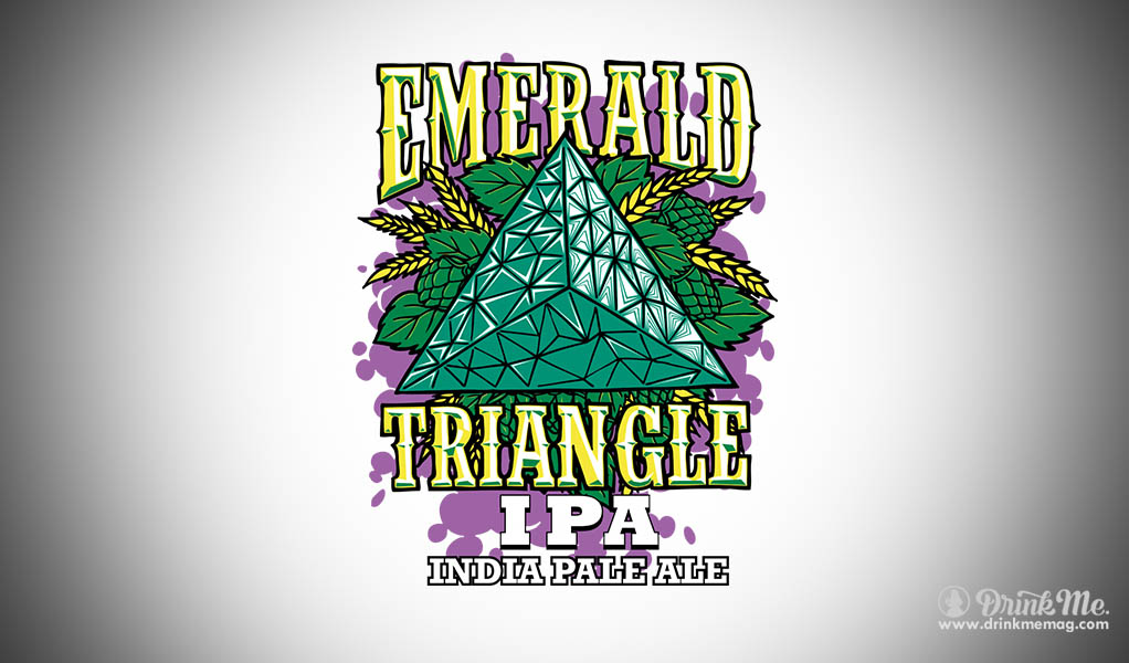 Eel River Brewing Drinkmemag.com Drink Me  Emerland Triangle IPA