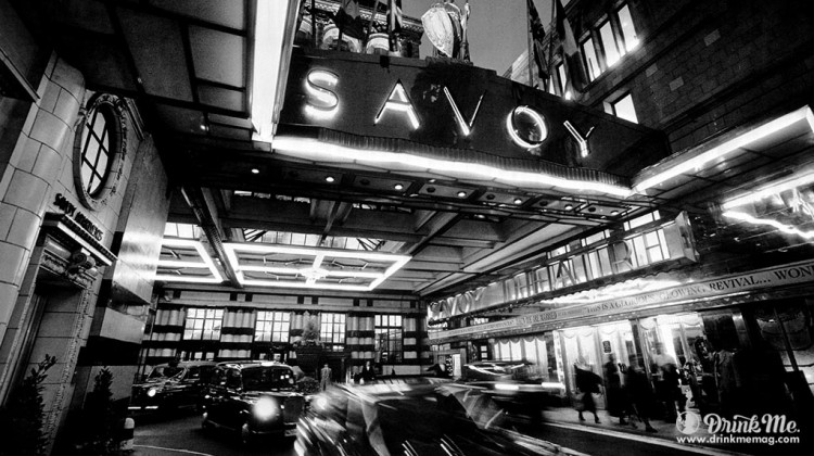 The Savoy London Drink Me