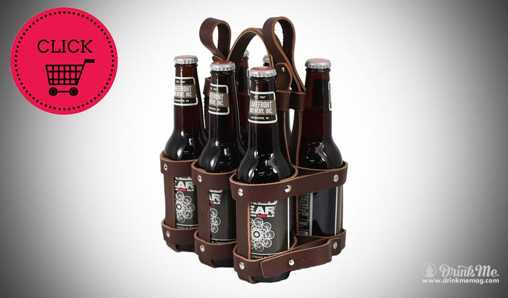 6 Pack Beer Caddy huckberry drinkmemag.com drink me