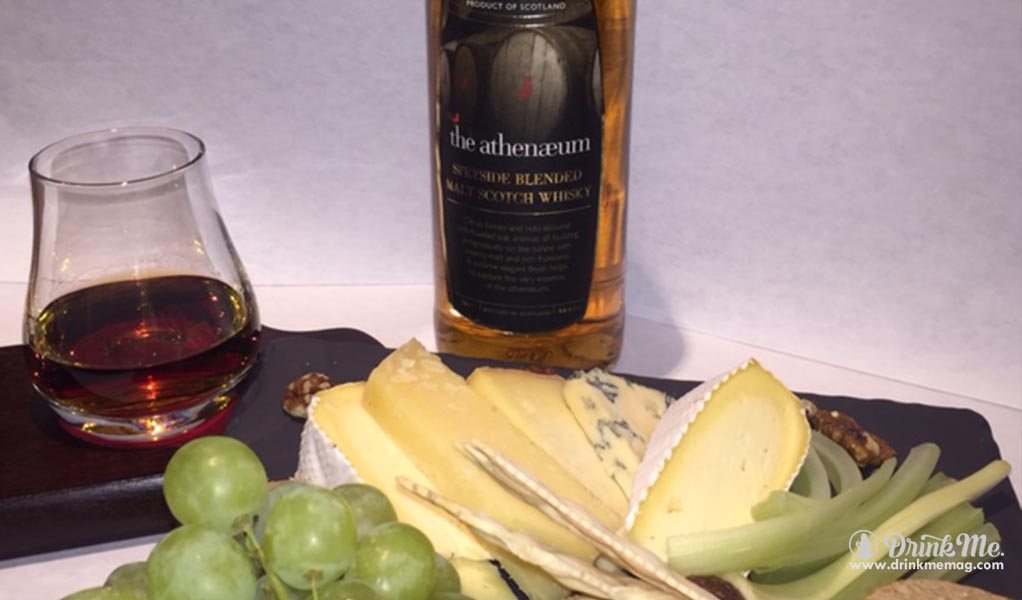 Atheneaum Hotel Whisky and Cheese