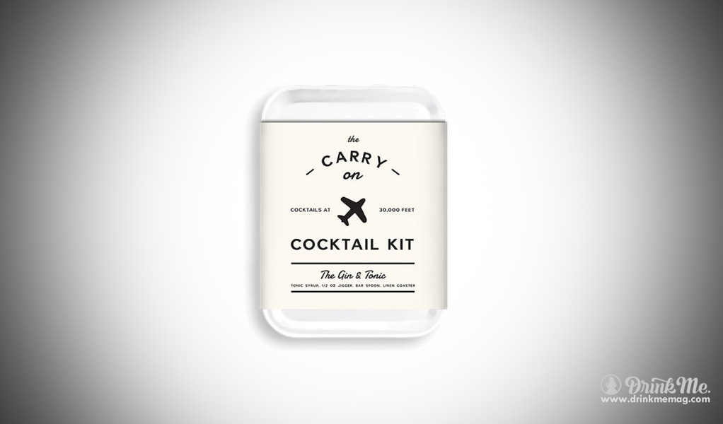 Carry on Kit Huckberry Gin & Tonic drink me drinkmemag.com