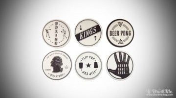 Drinking Game Coasters Izola