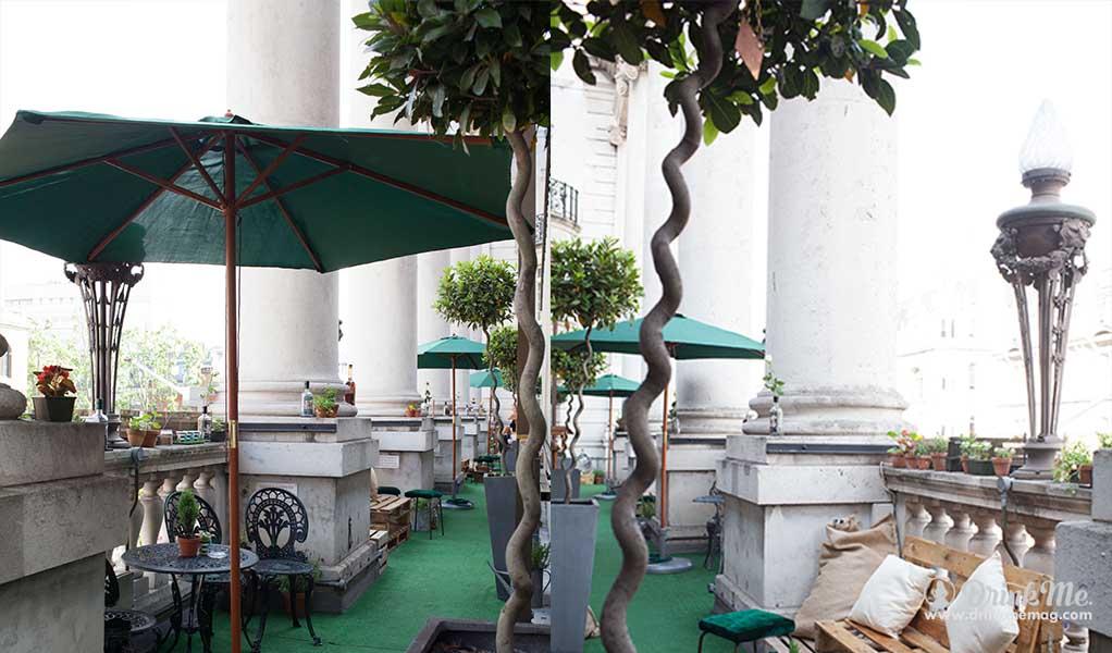 Le Meridien Sipsmith Sipping Garden drinkmemag.com drink me