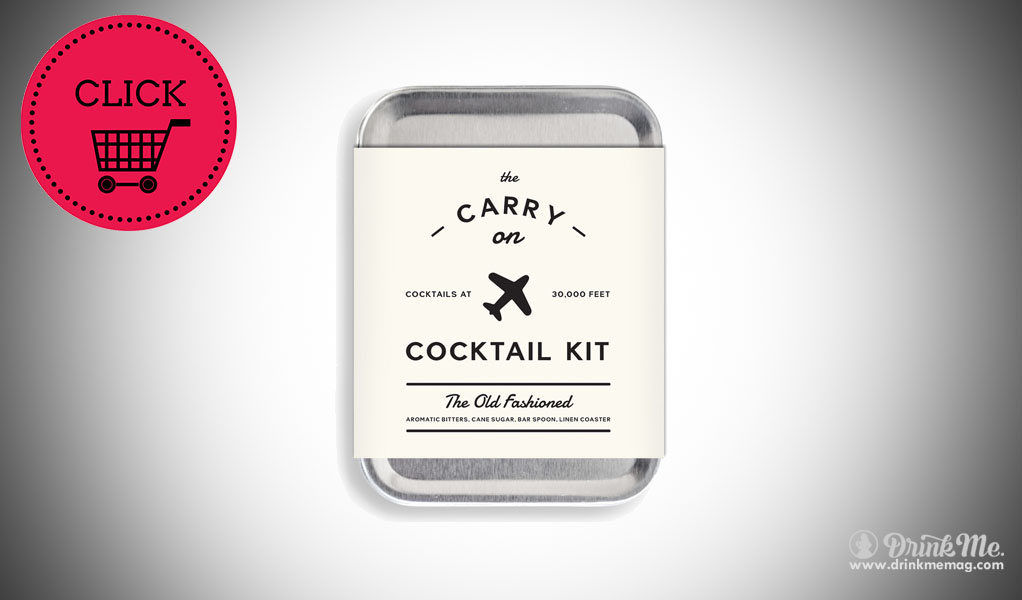 Old Fashioned Carry On Cocktail