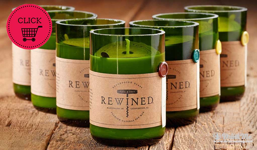 REWIND CANDLES WINE GIFTS WINE GIFT GUIDE DRINKMEMAG.COM DRINK ME
