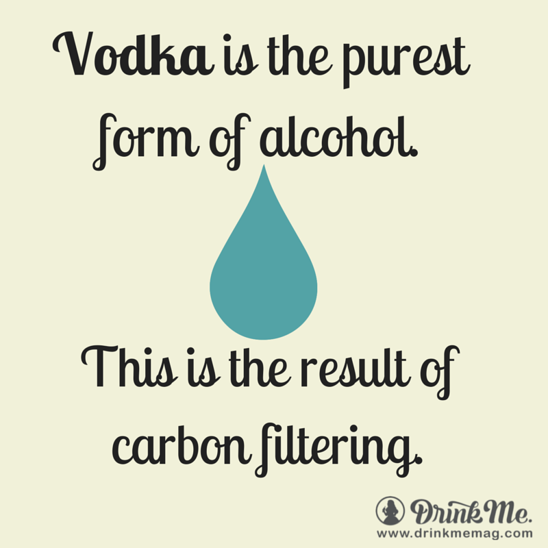 Vodka Facts drinkmemag.com drink me alcohol facts