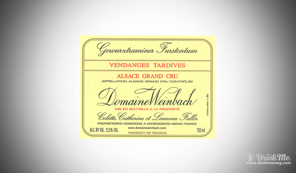 Weinbach Gewurztraminer Alsace Header DrinkMemag.com Drink Me Alsation Wine
