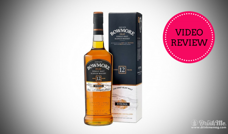 bowmore 12 yo video review drinkmemag.com