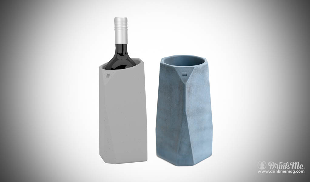 Corvi Concrete Wine Cooler drinkmemag.com drink me