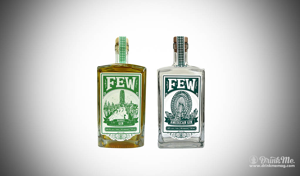 FEW gin american barrel single drink me drinkmemag.com