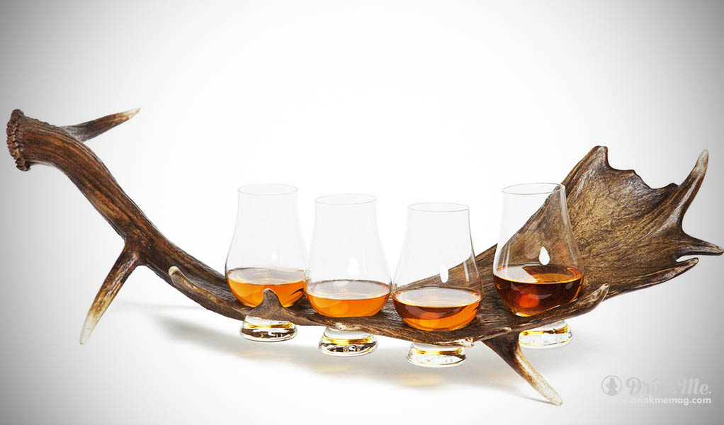 Stag Horn Whiskey Flight drinkmemag.com drink me gift guides