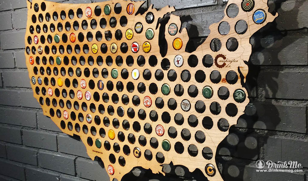 drinkmemag.com drink me USA Beer Cap Map