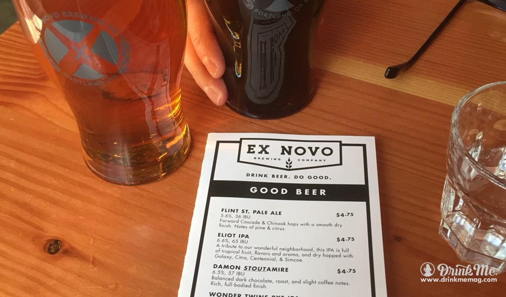 ex novo  drinkmemag.com drink me best beer in portland