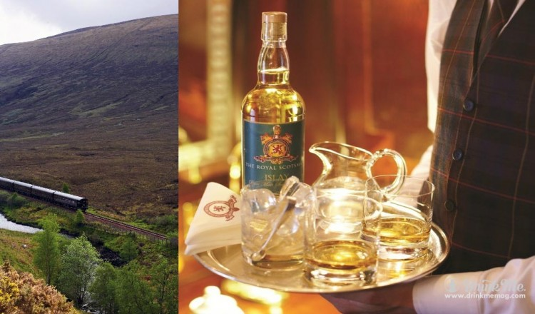 drinkmemag.com drink me Classic Whisky Journey through Scotland by Luxury Train