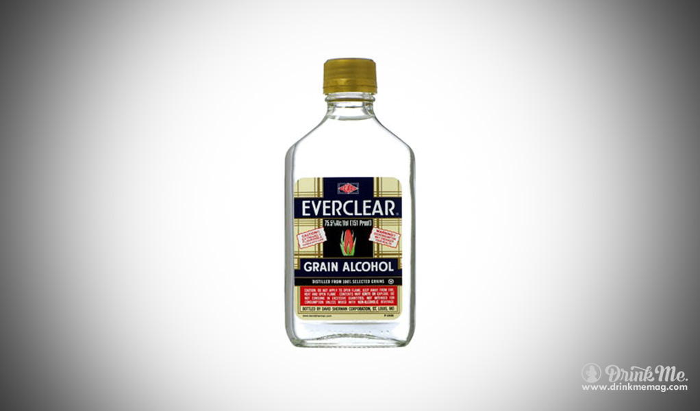 Everclear vodka strongest spirit in the world drinkmemag.com drink me