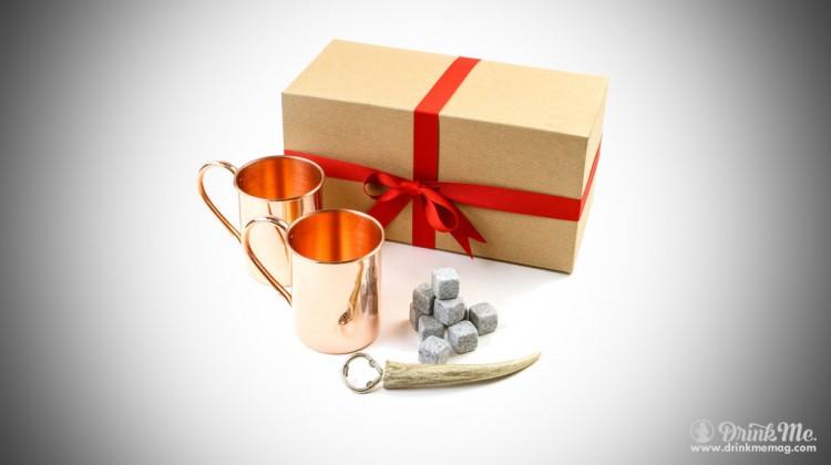 Mixologist gift box antler opener copper mug drinkmemag.com drink me