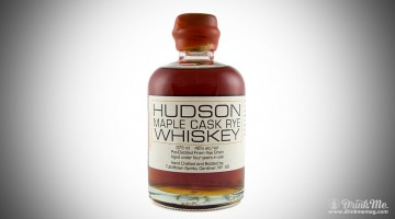 hudson maple cask rye whiskey drinkmemag.com drink me