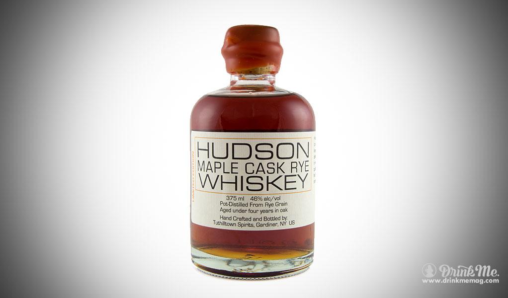 hudson maple cask rye whiskey drinkmemag.com drink me