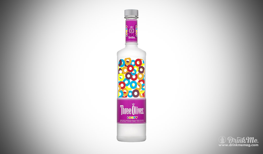 Fruit Loops Loopy Vodka Weirdest Vodka Flavors drinkmemag.com drink me weird vodka flavor