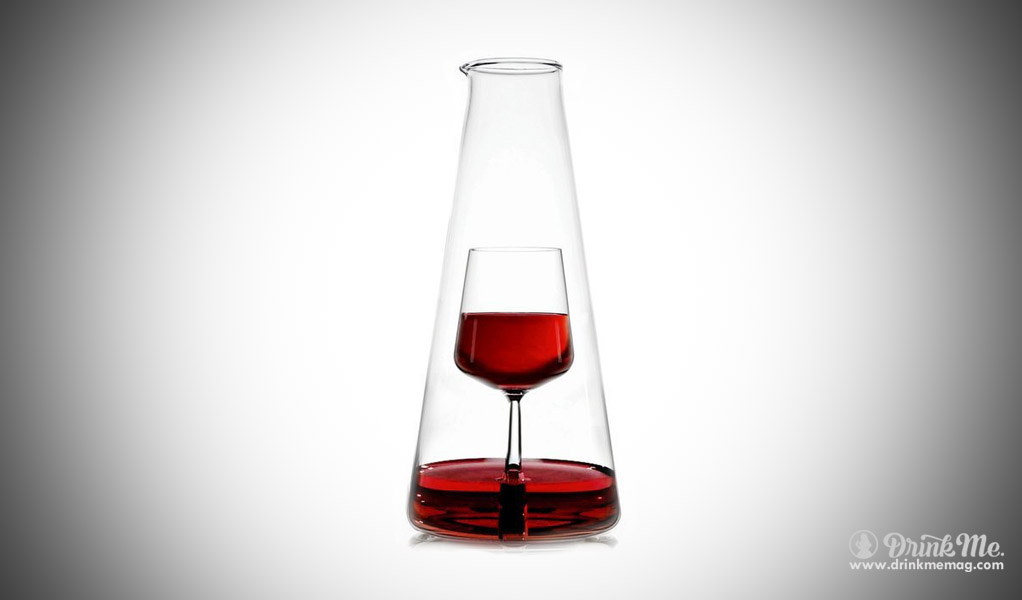 Inbottiglia Wine Carafe drinkmemag.com drink me