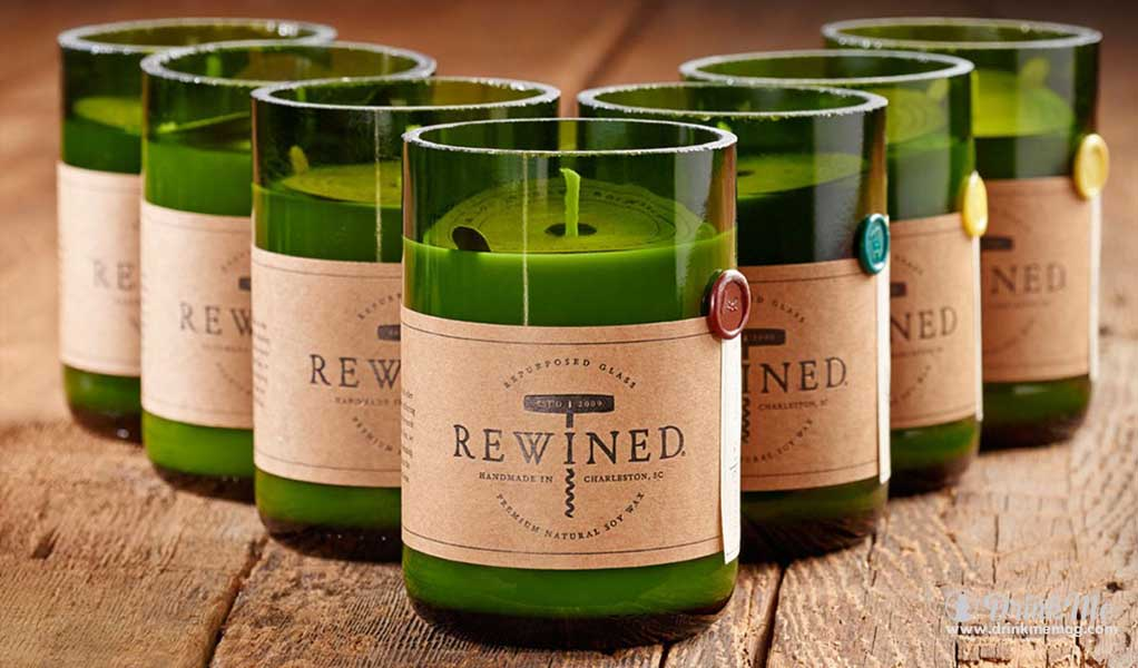 Rewined Candles Drink Me drinkmemag.com