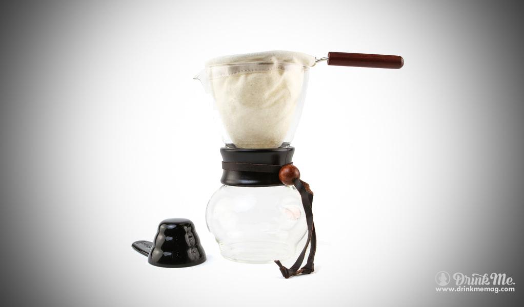 Cloth Drip Coffee Pot drink me drinkmemag.com