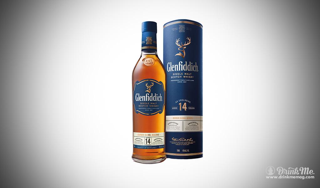 Glenfiddich Scotch Whiskey 14 Year Glenfidditch drinkme.com drink me