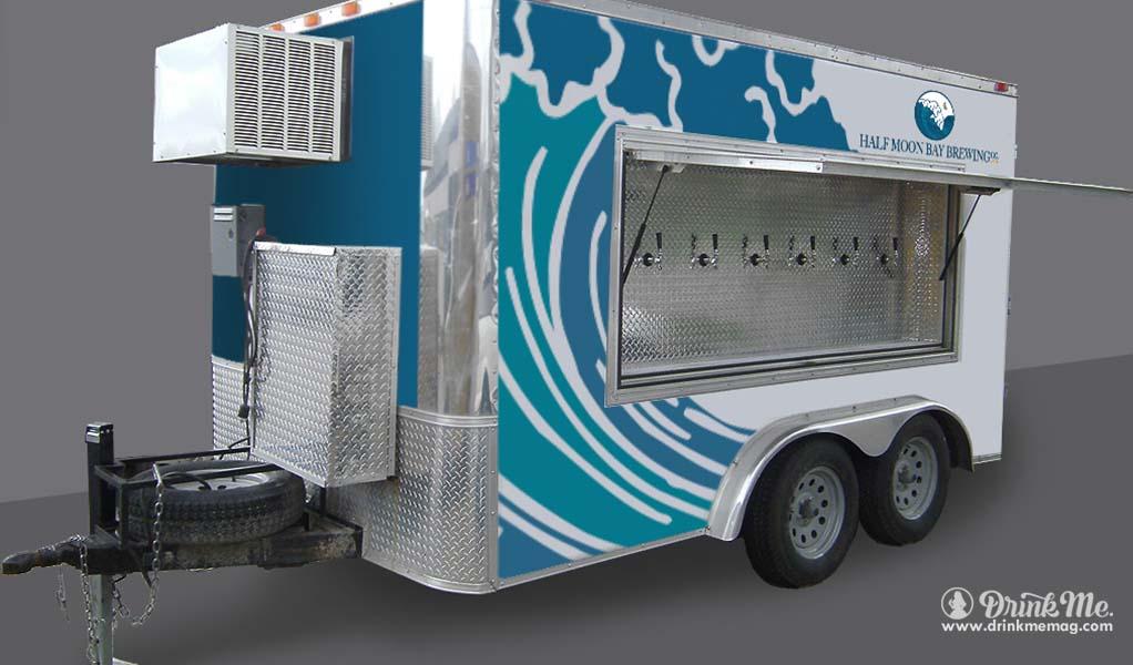 Half Moon Bay Brewing drinkmemag.com drink me portable trailer