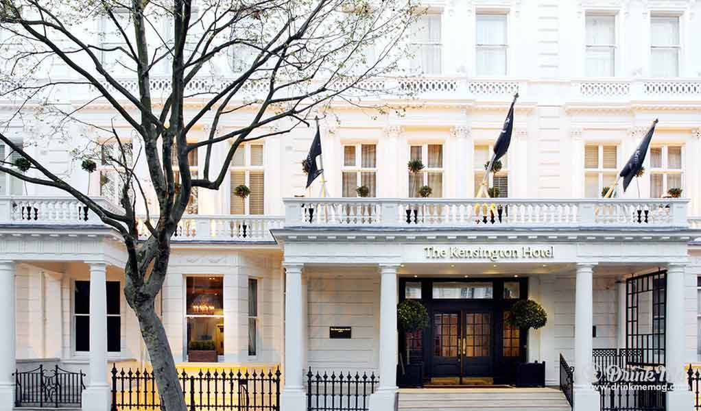 Hotel Kensington Town House London drinkmemag.com drink me 5