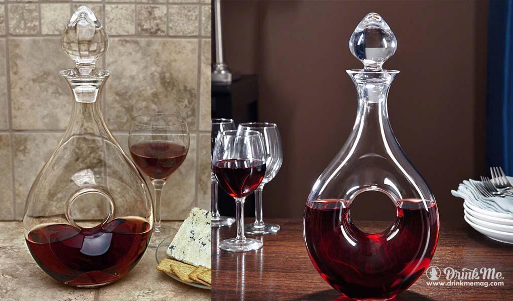 Mount Nyssa Wine Decanter drinkmemag.com drink me