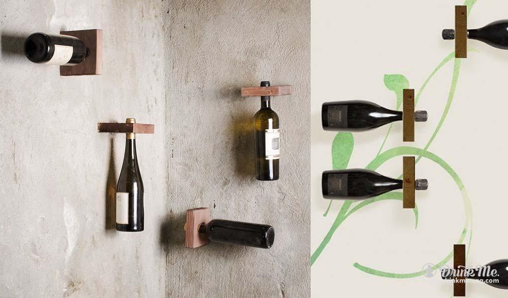 Quadra Modular Wine Rack drinkmemag.com drink me