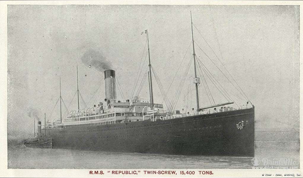 RMS Republic  famous wine shipwrecks drinkmemag.com drink me