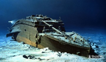 TItanic famous wine shipwrecks drinkmemag.com drink me