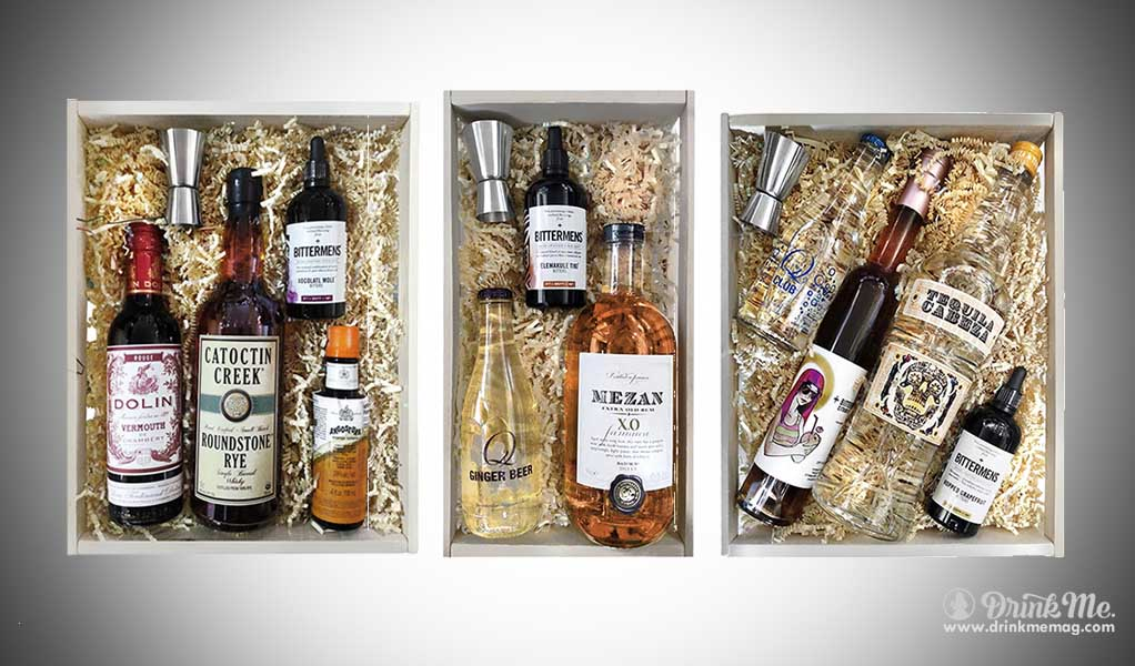 Cocktail Kit boxes gift drinkmemag.com drink me
